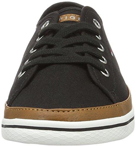 Tommy Hilfiger K1285esha 6d, Sneakers Basses Femme Noir (Black 990)