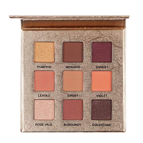 9 couleurs Palette de fard à paupières Beauty TY Mat Shimmer Pigmented Twilight et Poudre Ombre à paupières Dusk