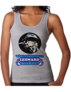 What A Difference A Leonard Makes Women's Vest