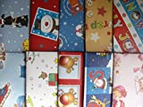 10 SHEETS OF CHILDREN'S CHRISTMAS WRAPPING PAPER