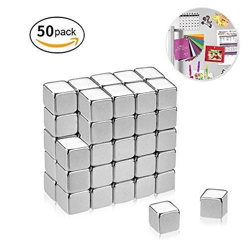 omitium Neodym Magnete Mini Magnete Starke Magnete 5 x 5 x 5 mm Supermagnete Würfel für...