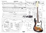 Luthiers Plans To Build Fender Jazz Bass Guitare électrique