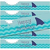 Birthday Stickers for Water Bottles | Set of 24 | (Shark 1) by Product80 preisvergleich bei billige-tabletten.eu