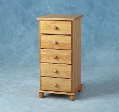 sol-5-drawer-chest-narrow-antique-pine