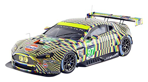 Artcar. Spark Aston Martin Vantage V8 1/18 Le Mans GTE PRO U2013 2015 U2013 18s192