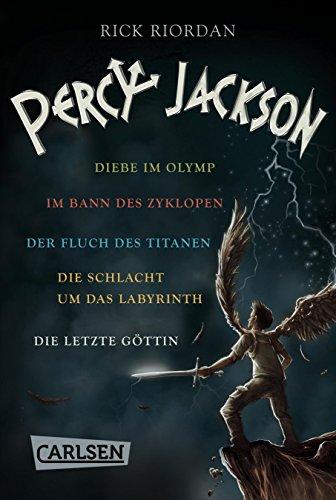 Percy Jackson: Alle fünf Bände der Bestseller-Serie in einer E-Box! (Percy Jackson ) (Rick Riordan-box)
