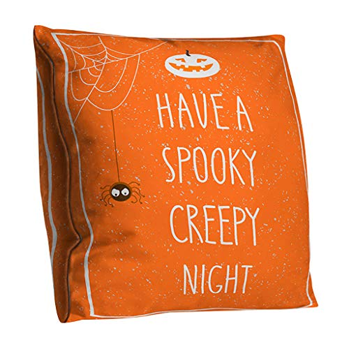 Mitlfuny Halloween coustems Kürbis Hexe Cosplay Gast Ghost Schicke Party Halloween deko,Halloween Kissenbezug Polyester doppelseitige Kissenbezug Home Decoration