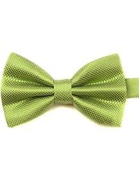 Fliege für Business Hemd Schleife Bowtie Verstellbar (grün)