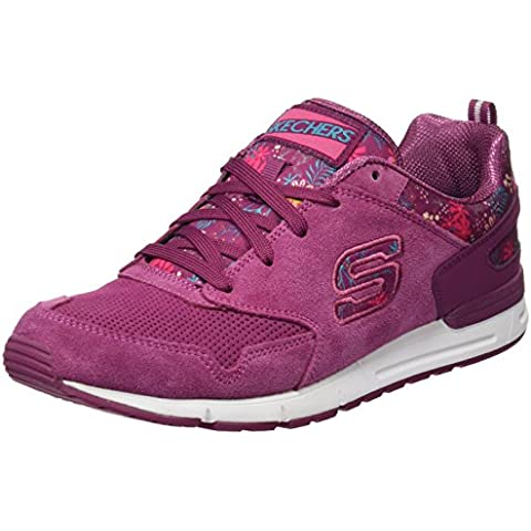 Skechers (SKEES) Og 92-Breezy Blooms, Zapatillas de Deporte Para Mujer