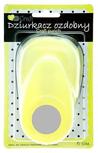 Dp Craft - Perforadora de círculos 5 cm