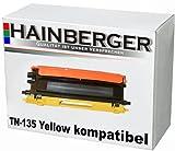 Hainberger Toner für Brother TN135 Yellow HL-4040CN HL-4050CDN HL-4050CDNLT HL-4070CDW DCP-9040CN DCP-9042CDN DCP-9045CDN MFC-9440CN MFC-9450CDN MFC-9840CDW