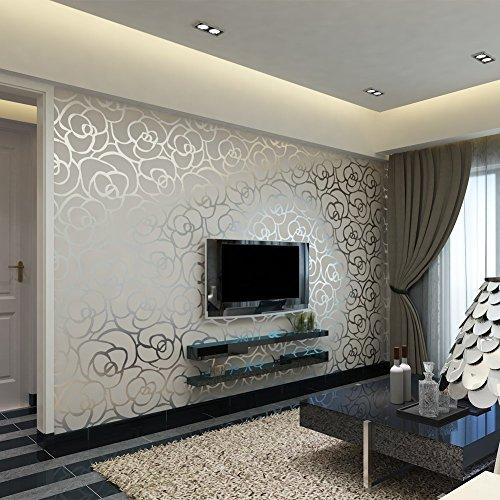 hanmero-10m-3d-romntico-moderno-diseo-flores-rayas-papel-pintado-papel-de-pared-tv-teln-de-fondo-dor
