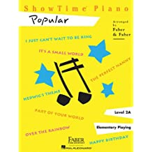 Faber Nancy & Randall Showtime Popular Piano Adventures Piano BK (Showtime Piano)