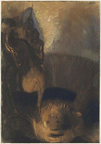 Das Museum Outlet-Saint George und der Drache, 1892-A3Poster