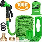 """Suplong Expandable Garden Water Hose Pipe - 100FT Magic Expanding Hose with 3/4"""""""