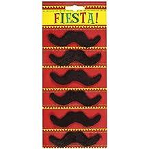 6 mustaches (accesorio de disfraz)