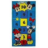Kinderteppich Mickey und Minnie Mouse 160x 80cm Disney Marelle