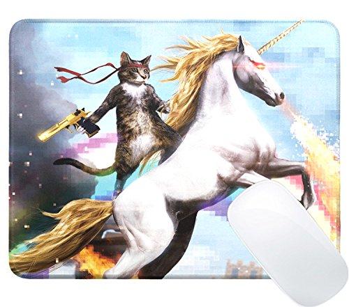 iVoler Gaming und Office Mauspad Mit Premium-Textur (250mmx220mmx3mm) Wasserdicht Mousepad Rutschfest und Präzise Speed Pad Rubber Base mit Anti-Rutsch-Funktion für Computer, PC und Laptop