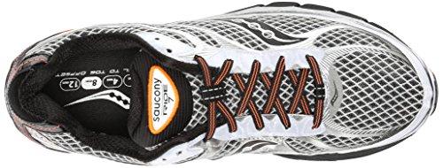 Saucony Ride 7 White Black Orange (Weiß/Schwarz/Orange)
