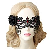 Bigood Masque Mascarade Femme Voile Mask Party Bal Bar Déguisement Ange Princesse Vintage