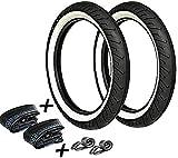 2 Sava Weißwand Reifen Set - 6 Teilig - 2,75 x 16 + 2 Schläuche + Felgenband