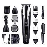 Haarschneider Herren elektrisch Haarschneidemaschine 6 in 1 Multigrooming-Set mit Barttrimmer