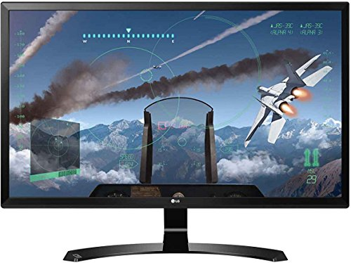 LG 27UD58 27 inch 4K UHD IPS Monitor (3840 x 2160, 2x HDMI, DisplayPort, 250 cd/m2, 5ms, AMD Freesync) UK