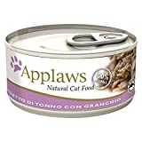 APPLAWS CAT boîtes alimentaires thon et crabe gr 70 Aliment humide chat