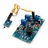 DC12V 0-20S piroelectricidad alarma módulo de circuito zumbador Tiempo de retardo de PCB