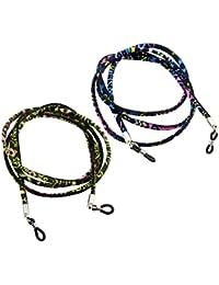 Baosity 2 Pz Cavo Occhiali Stilo Etnico Accessorio Moda Comodo Da Indossare Corda Per Occhiali Da Vista WHxm7Vq