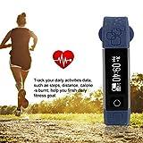 MachinYester K8 Waterproof 0.86 Inch Bluetooth Sleep Heart Rate Monitoring Smart Bracelet