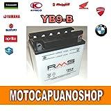 Batterie YB9Aprilia 125RS, RS Extrema, RS Pista 19971998199920002001gesamt