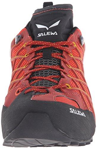 Salewa Herren Trekking- und Wanderhalbschuhe MS Wildfire S GTX Rot (Indio/Nugget Gold 1610)