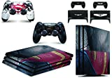 giZmoZ n gadgetZ GNG Playstation4 PS4 PRO Konsolen-Gehäuseaufkleber, Motiv: Superman vs Batman, inklusive 2er-Set mit Aufklebern für Controller