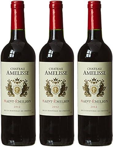 CHATEAU AMELISSE France Bordeaux MDC Vin Saint Emilion AOP 2012