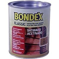 Bondex Ref. 4390 Protector Decorativo Mate para Madera, Marrón, 750 ML