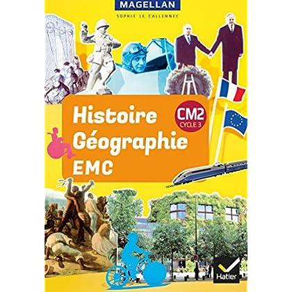 Magellan - Histoire-Géographie-EMC CM2 Ed. 2019 - livre élève