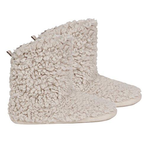 Ruby and Ed  Cloud Slipper Boot, Damen Hausschuhe beige natur, beige - natur - Größe: S (Ruby Slipper Schuhe)