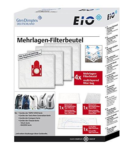 Staubsaugerbeutel MicrofiltPlus® Staubbeutel Set Nr. 26 / ewt-EIO