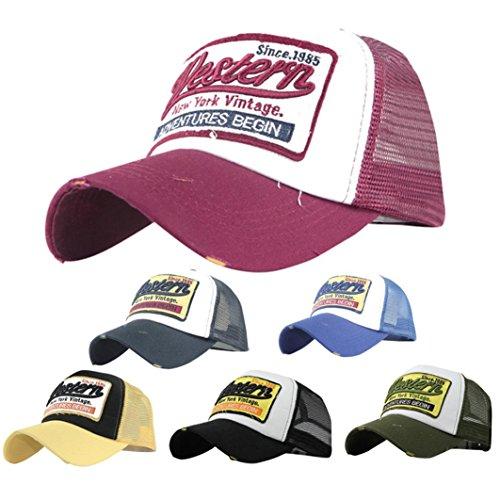 Cinjade Hats&Caps Classic Women&Men Sports Casual Lightweight Adjustable Plain Sun Hat Baseball Cap