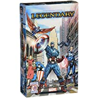 ADC Blackfire Entertainment UD85213 - Marvel: Captain America 75 th Legendary Small Box Erweiterung - Englisch, Kartenspiel