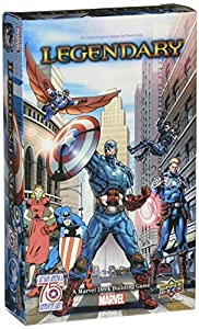 Legendary Marvel Deck Building Game: Captain America 75th Small Box Expansion