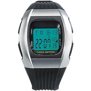 PEARL Unisex Erwachsene Digital Uhr mit Polycarbonat Armband NC-7065-944