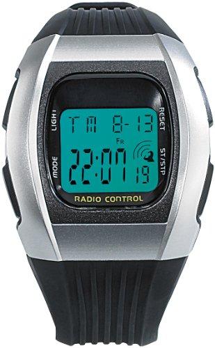 Pearl NC7065-944–Unisex-Armbanduhr, Armband aus Kunststoff, Farbe schwarz (Sportliche Auszeichnungen)