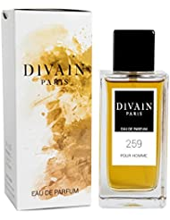 DIVAIN-259 / Similaire à Calvin Klein Man / Eau de parfum pour homme, vaporisateur 100 ml
