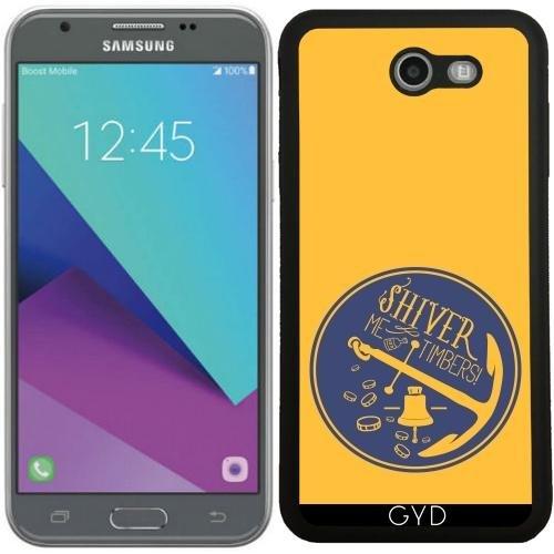 Custodia Silicone per Samsung Galaxy J7 2017 (SM-J727) - Ancora Galleggiante Per Barche Campana by UtArt - Personalizzato Borsa Barche
