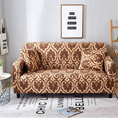 FFKLLL,Sofa Cover Sofa,Möbelschutzfolie, An Ort Und Stelle Mikrofaser Weichund,wasserabweisend 2 Sitzer/Love Seat,Rutschfes (Farbe4,235-300cm)