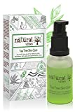 Natural Vibes ~ Ayurvedic Tea Tree Skin Repair Serum 30 ml ~ Reduces acne, blemishes, dark spots and lightens skin tone