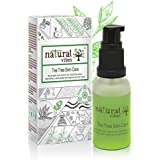[Sponsored]Natural Vibes ~ Ayurvedic Tea Tree Skin Repair Serum 30 Ml ~ Reduces Acne, Blemishes, Dark Spots And Lightens...