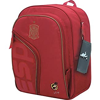 51FyD5V7QjL. SS324  - Selección Española La Roja Mochila Tipo Casual, 41 cm, Rojo